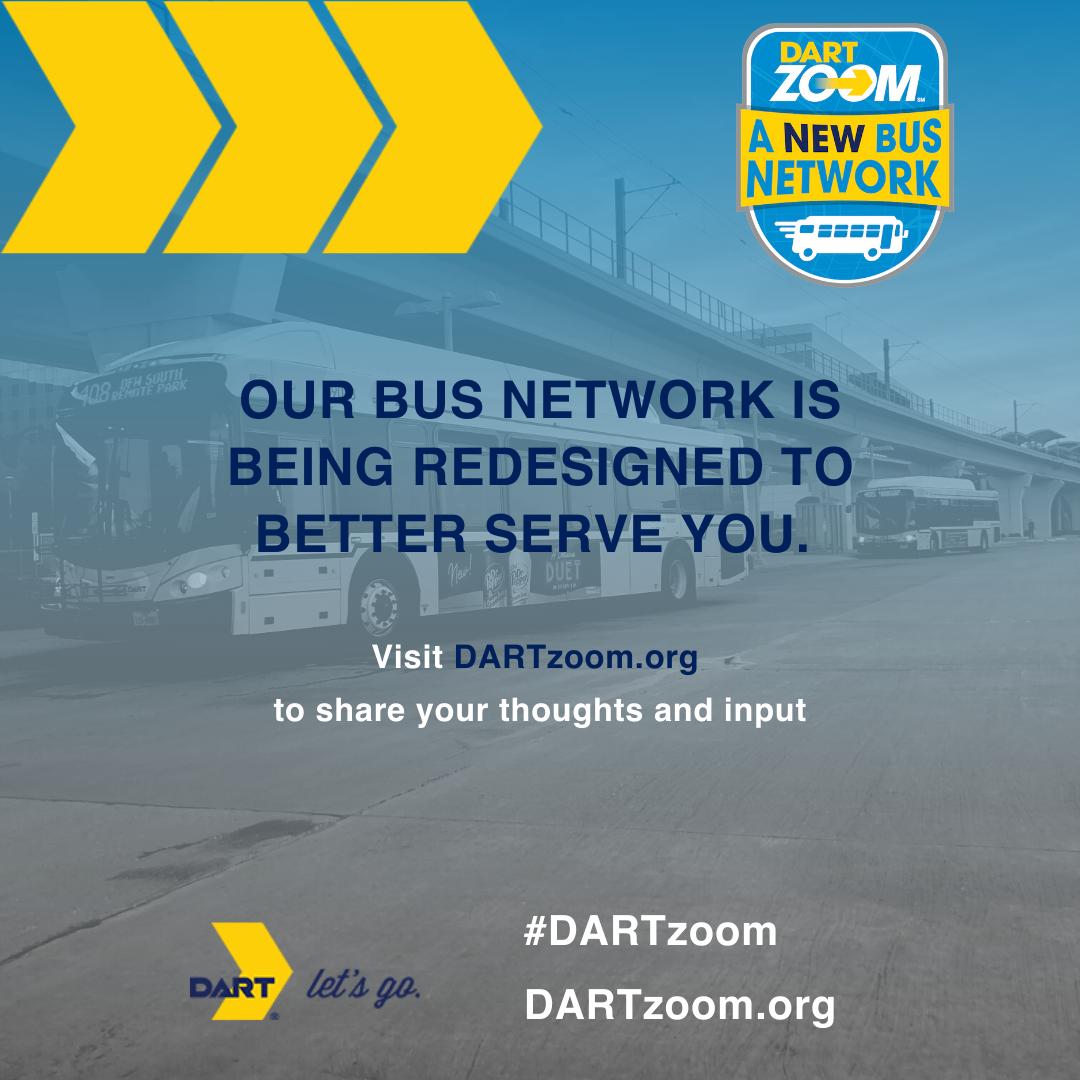 DARTzoom A New Bus Network 3