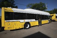 40 foot bus with rear door
