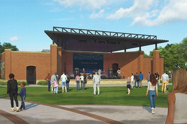 Irving Heritage Park rendering