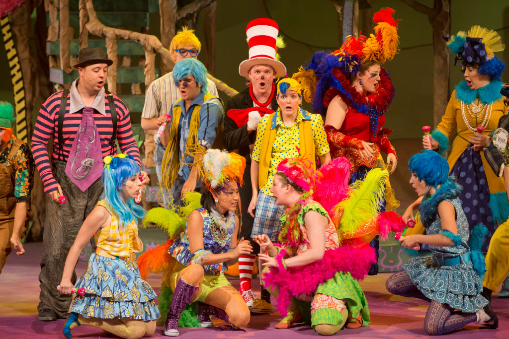 Seussical the Musical at Plano Courtyard Theater