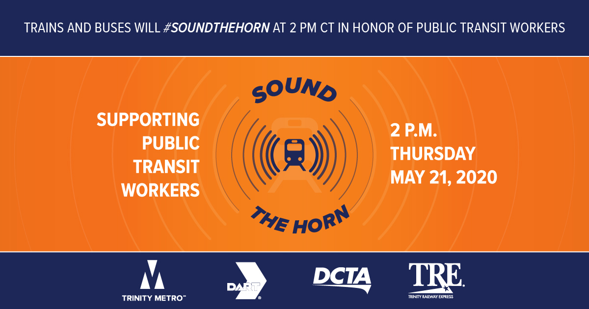 DART to Sound The Horn on May 21