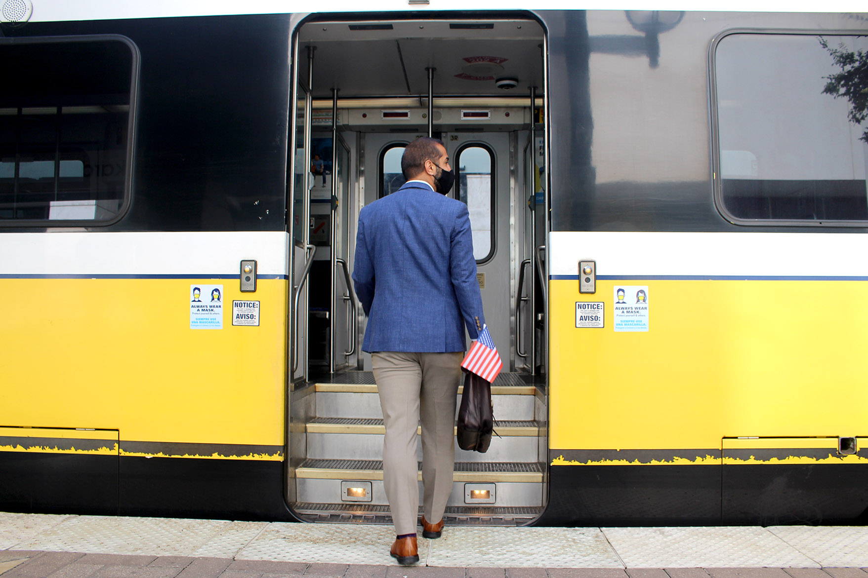 Learn how to find a voting location and ride DART free to vote.