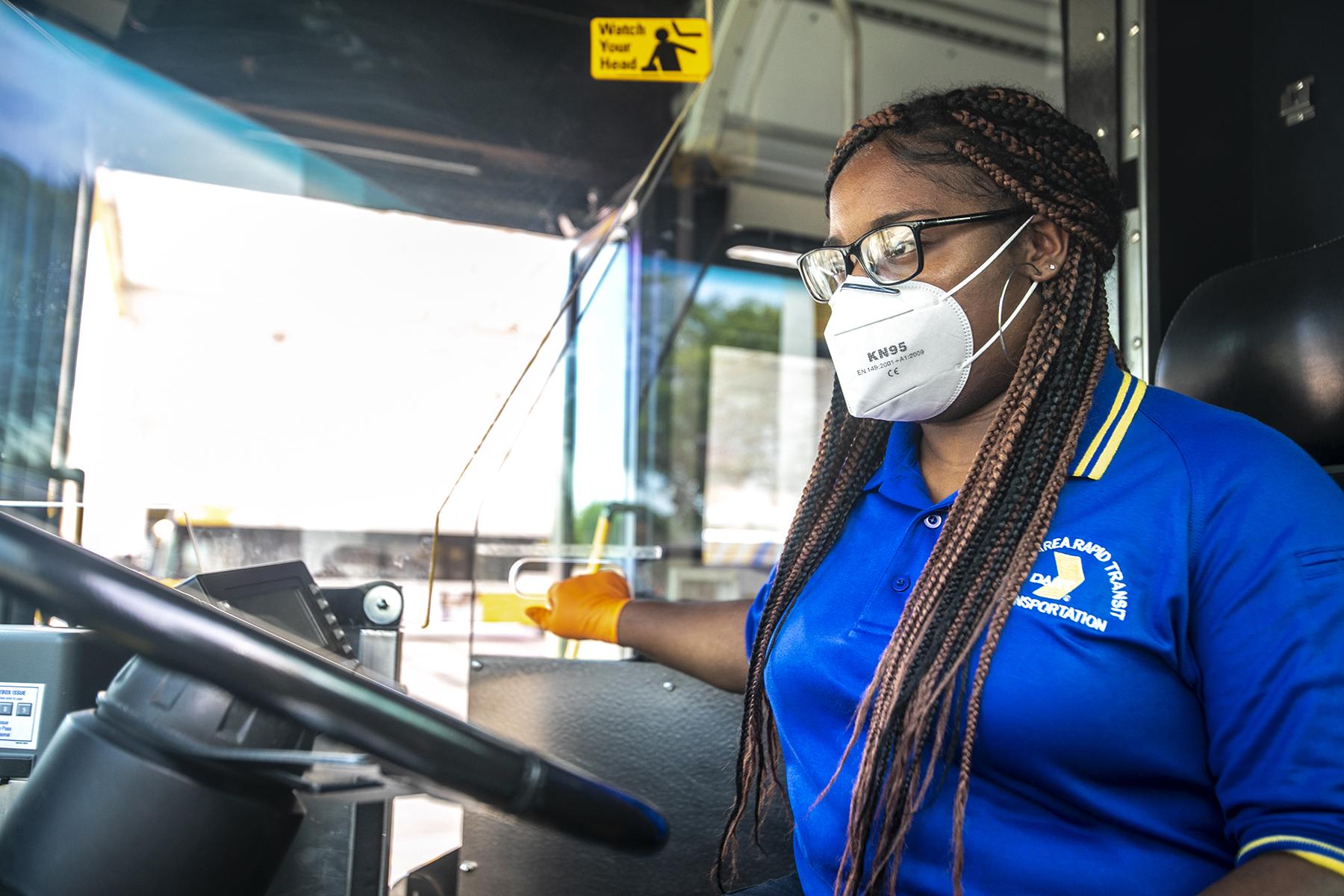 Ask DART: Masks on Vehicles