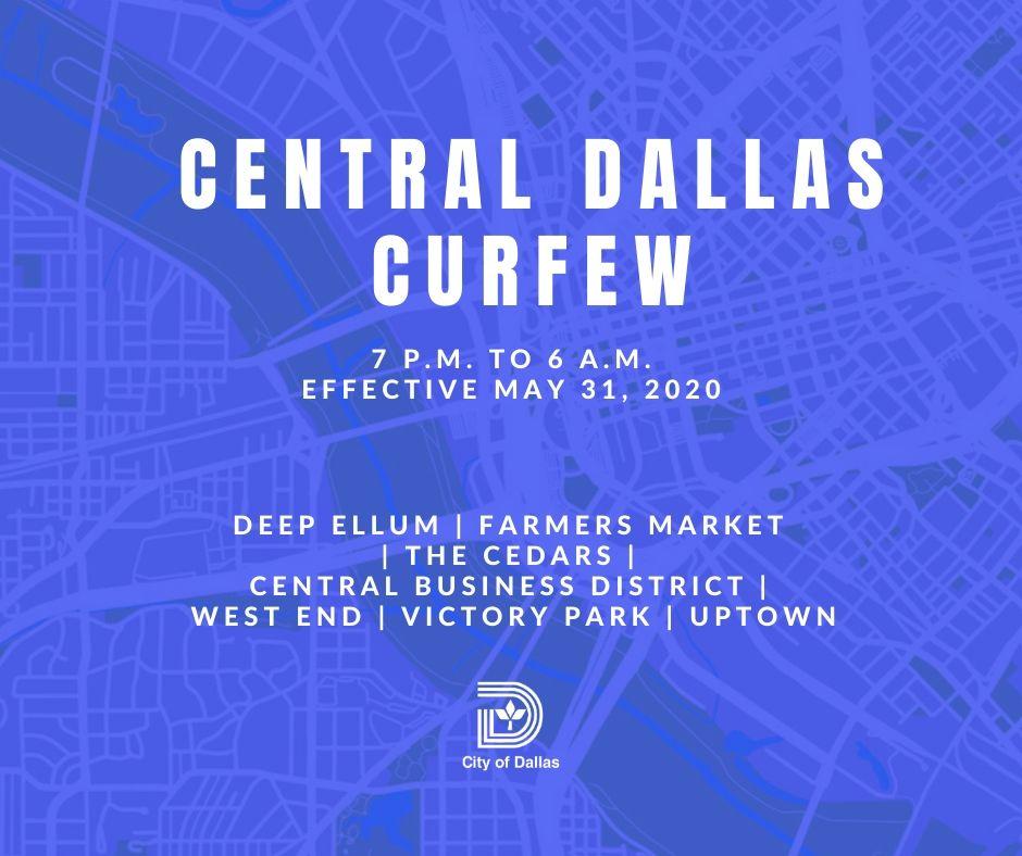 Central Dallas Curfew