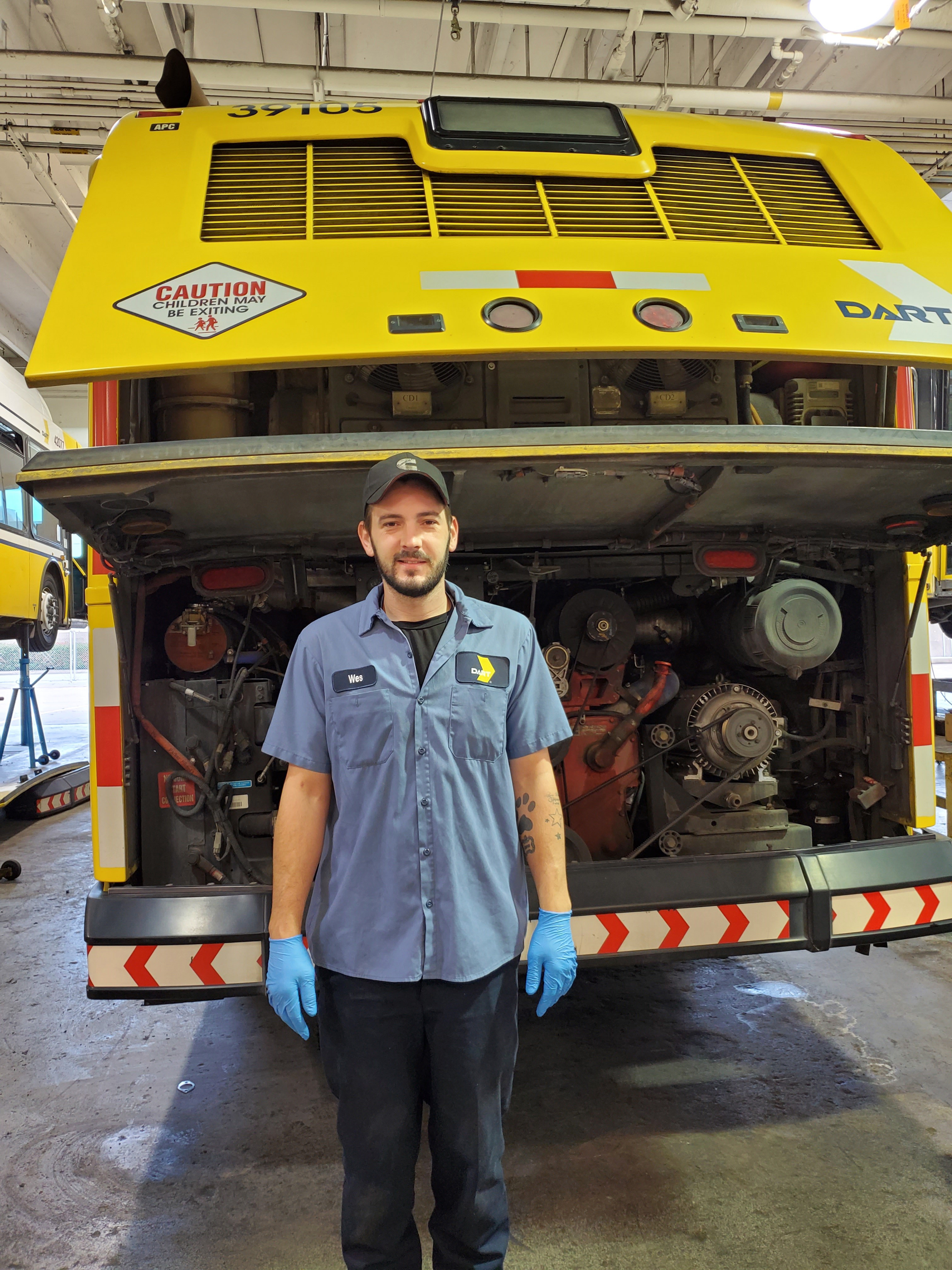 Front-Line Employee Profile: Wesley Chapman DART Central Support Mechanic