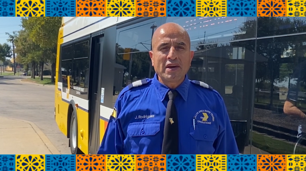 What My Heritage Means to Me: Jesus Rodriguez, DART Bus Operator