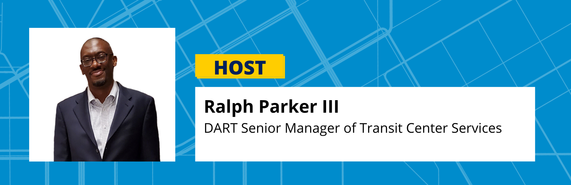 Ralph Parker III DART Senior Manager of Transit Center Services