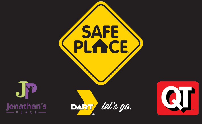 DART is part of the Safe Place program, a national non-profit organization that builds community safety nets for young people in crisis.