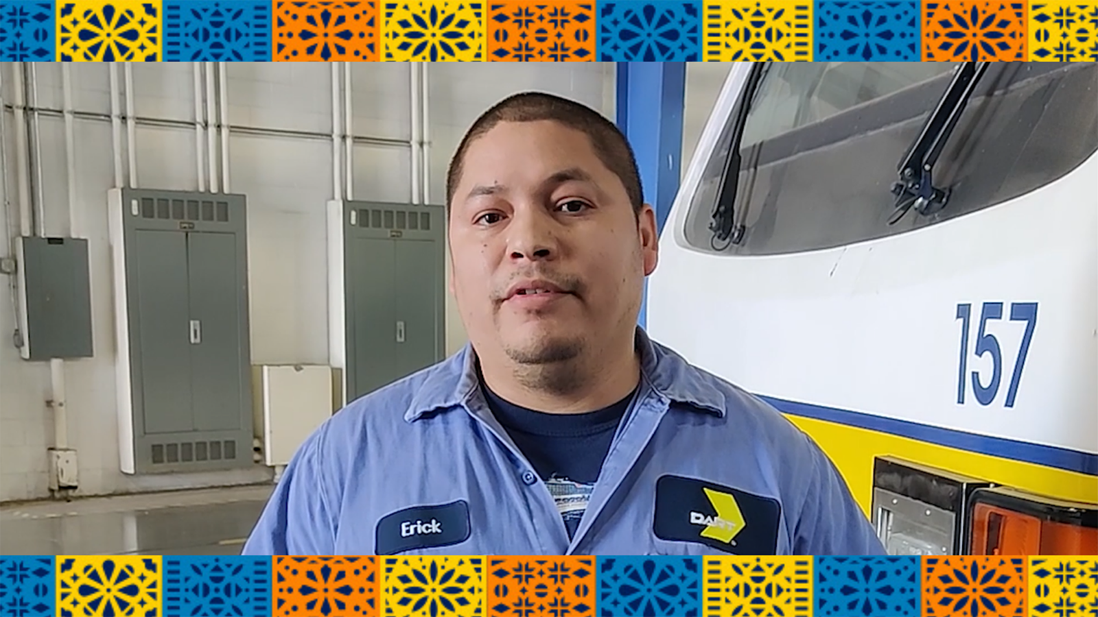 What My Heritage Means to Me: Erick Martinez, DART Light Rail Vehicle Technician/Mechanic