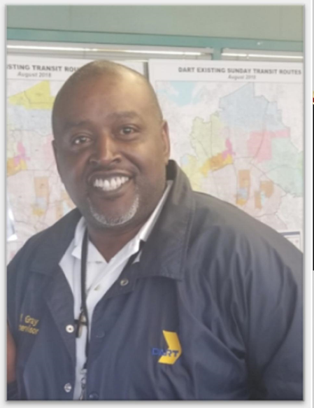 Front-Line Employee Profile: Wadell Gray, DART Bus Dispatcher